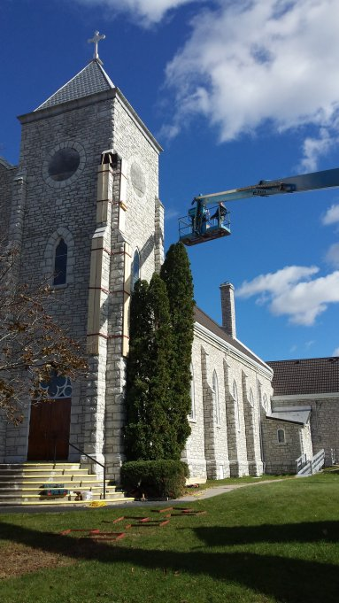 Sky High Historical Restoration St Mary S Campbellford