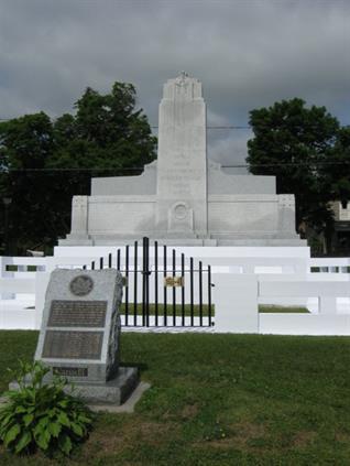 Sky High Historical Restoration Campbellford Cenotaph